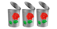 trash roses
